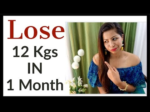 Diet Plan to Lose Weight Fast 12 Kgs in 1 Month | Full Day Diet Plan for Weight Loss