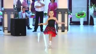 Cute Girl and Boy Salsa Dancing Performance is amazing