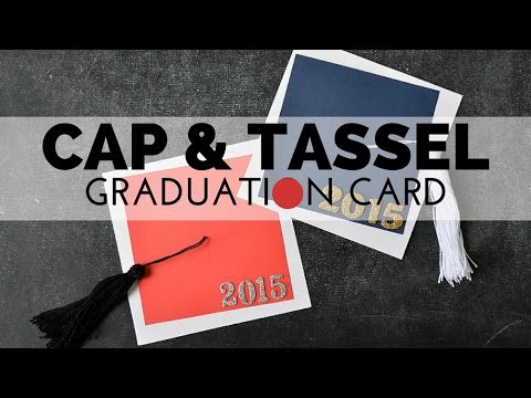 How to make a graduation cap ep simplekidscrafts for Graduation mortar board template