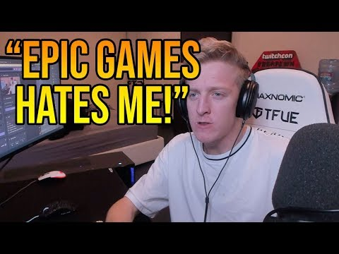 Tfue Explains Why Epic Games *HATES* Him (They Vault Everything He Likes)