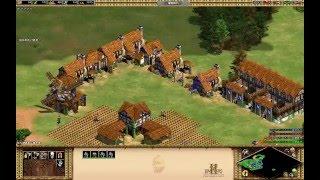 2016-5-5 世紀帝國II HD 2vs2 對戰 條頓 200人