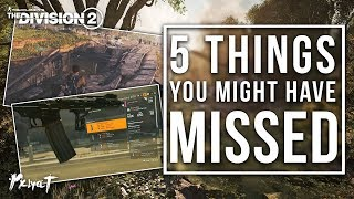 The Division 2   5 Things You Missed!
