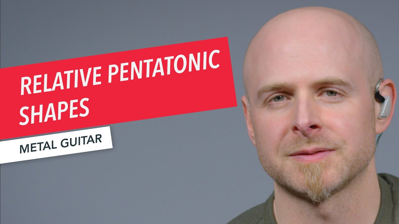 Relative Pentatonic Shapes | Metal Guitar | Shaun Michaud | Berklee Online