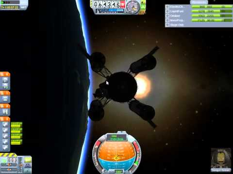 KSP Mission to the Mun to test the processing lab.  Pt4