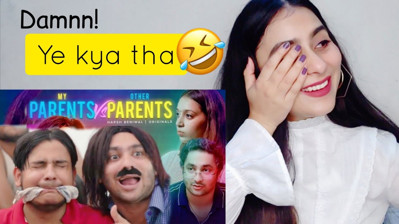 Other Parents vs My Parents | Harsh Beniwal | Reaction By Illumi Girl