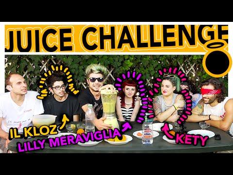 JUICE CHALLENGE - THE DOPES feat Lilly Meraviglia, Scherzi di Coppia e iLKLOZ!