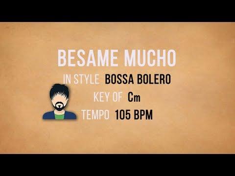Besame Mucho - Karaoke Backing Track