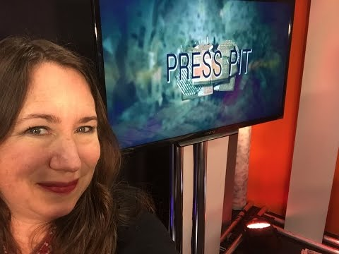 Press Pit with Becky Walsh on Made in Bristol Television