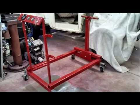 Engine Test Stand Build - YouTube