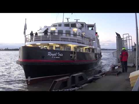 Mersey Ferry Royal Iris - City Centre to Seacombe Onboard