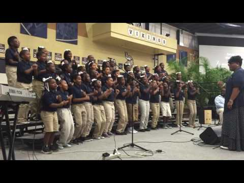 Cleveland Academy Choir Performs at 7Shares