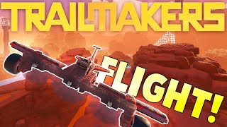 Trailmakers - Builing A Propeller Plane - Flying Aircrafts - Trailmakers Gameplay