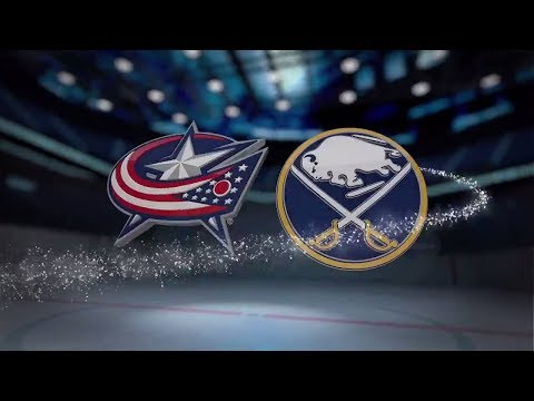 Columbus Blue Jackets vs Buffalo Sabres - November 20, 2017 | Game Highlights | NHL 2017/18. Обзор