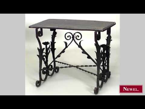 Antique Italian Renaissance style (19th Cent) wrought iron