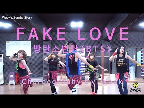 Fake Love - BTS ( 방탄소년단 )  / K-pop / Easy Dance Fitness Choreography/ ZIN™ / Wook's Zumba® Story