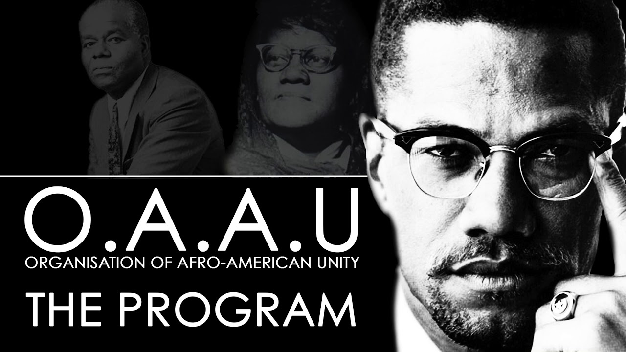 OAAU: The Program - Omowale Malcolm X