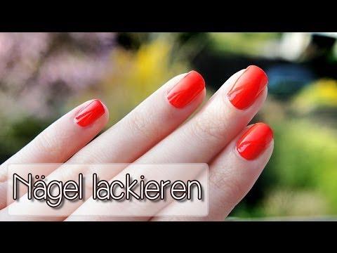 Nägel sauber lackieren - Tutorial   Collchen14