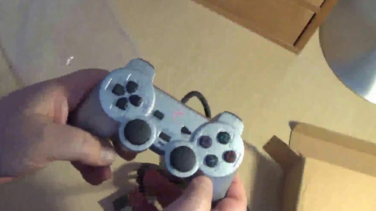 Magnificent Wire Vs Dualshock Controller Ps2 Images - Electrical and ...