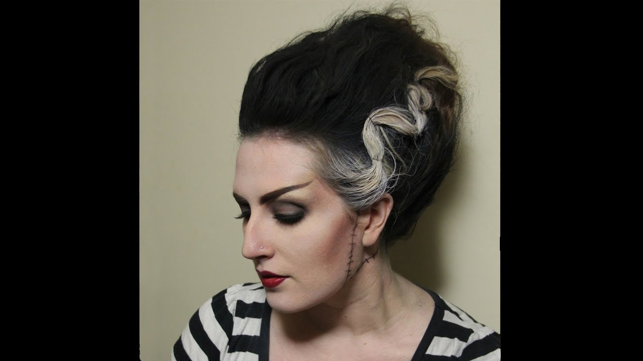 Halloween: Bride of Frankenstein - Hair - YouTube