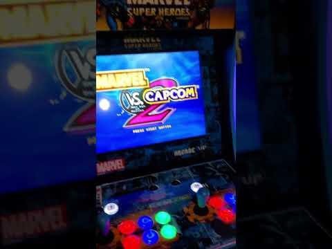 Modded arcade1up machine from Jo Go