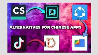 Safe Chinese Apps Alternatives: TikTok, Shareit and many more||alternative of Chinese Apps||banned screenshot 4