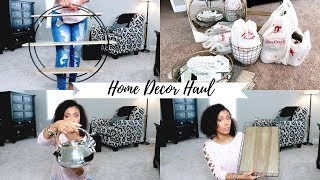 HOME DECOR HAUL| NEW KITCHEN DECOR| TJ MAXX, HOMEGOODS & MORE| AFFORDABLE HOME DECOR