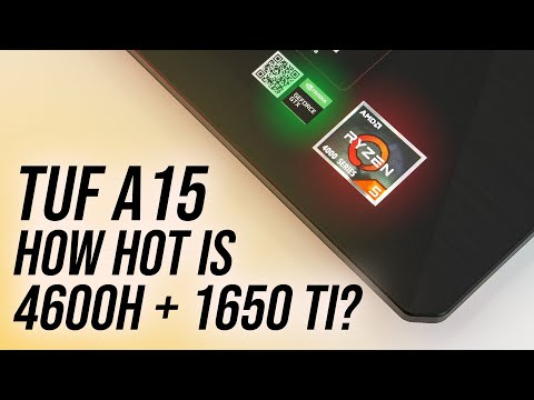 ASUS TUF A15 (4600H+1650 Ti) Has Different Cooling!