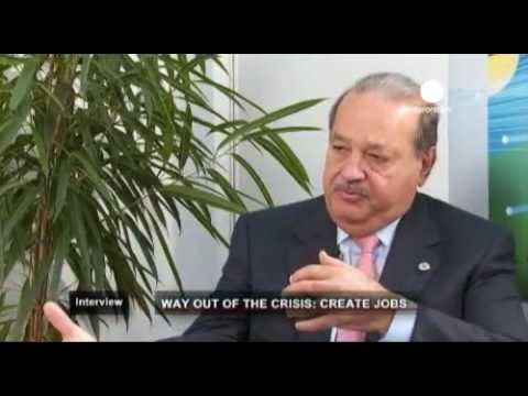 EuroNews interviews Carlos Slim in International Telecommunications Union's Conference