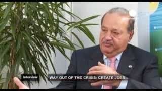 EuroNews interviews Carlos Slim in International Telecommunications Union