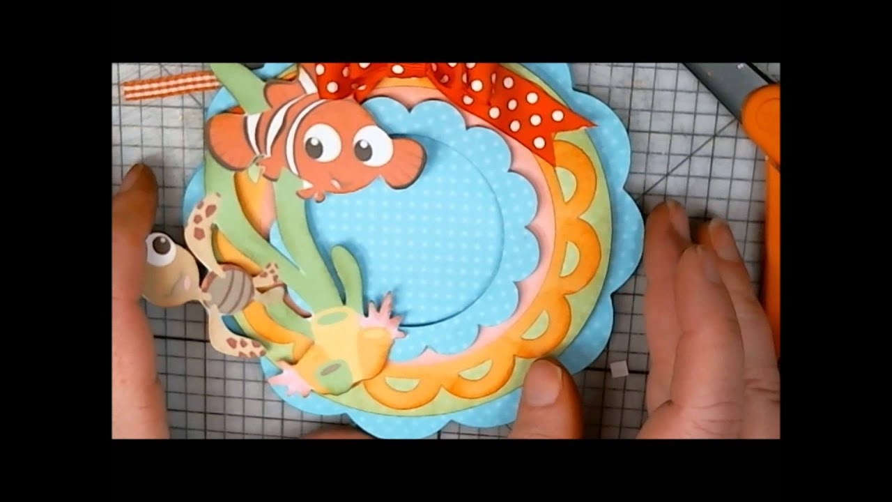Finding Nemo Baby Shower Card