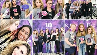 VLOGG: Meet & Greet with @Glittergirlc and Urban Decay in Oslo!