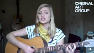 клево играет на гитаре и поет песню про секс