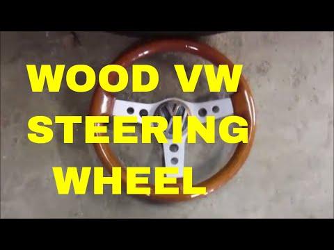 custom wood steering wheel
