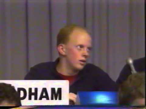 1998 Cox Communications Academic Challenge Championship - Washington v. Woodham High School
