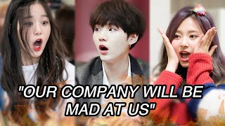 KPOP IDOLS SPOILING THEIR COMEBACKS (TXT, BTS, BLACKPINK, IZONE, TWICE...)