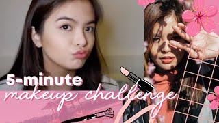 BEAUTY: 5-Minute Make-up Challenge || Bea Binene