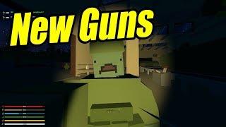 Unturned Scraps - S1E2 - New Guns!!!