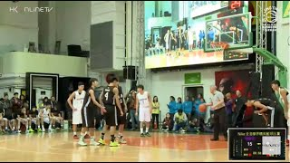 2015-2016 年度NIKE全港學界精英籃球比賽 - J