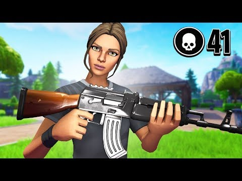 41 Kill Solo Squad | Controller on PC | Top Controller Player | Season 7 Fortnite