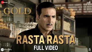 Rasta Rasta Full | Gold | Akshay Kumar | Mouni Roy | Sachin Jigar | Sukhwinder Singh