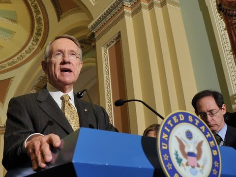 Reid Discusses Federal PILT Funds for Nevada