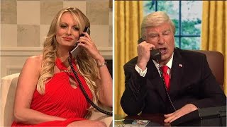 Stormy Daniels crashes 'SNL' cold open
