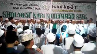 Peringatan Maulid Nabi Muhammad SAW oleh Habib Ahmad bin Ismail AlAydrus, di Tambakberas