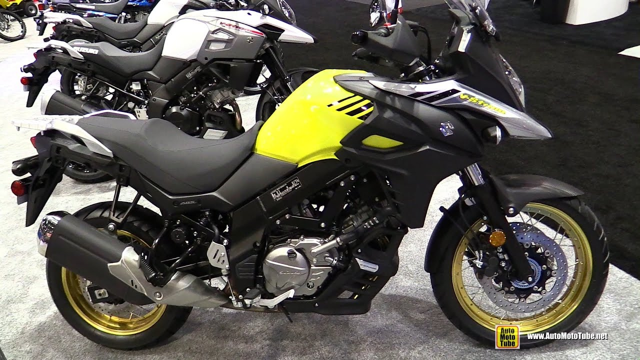 2017 suzuki v strom 650 xt walkaround debut at 2016. Black Bedroom Furniture Sets. Home Design Ideas