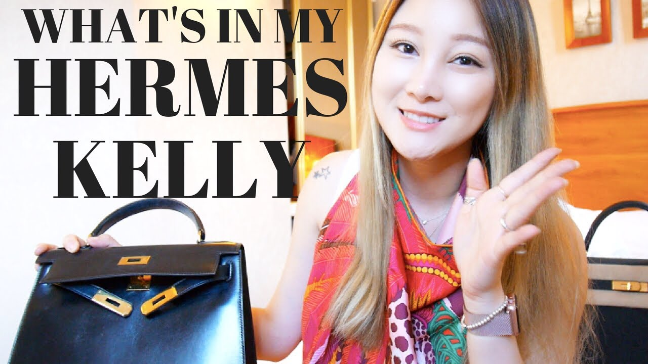 3a79187a6dc8 WHAT S IN MY HERMES KELLY 28