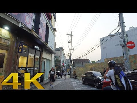 Seoul tour Itaewon2, Seoul Korean 4K