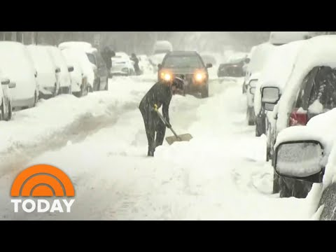 Brutal Winter Storm Slams Northeast | TODAY