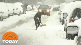 Brutal Winter Storm Sląms Northeast | TODAY
