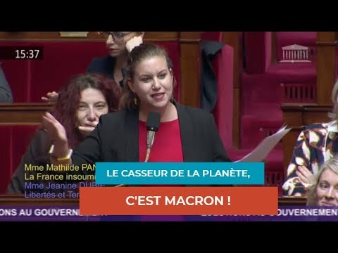 LE CASSEUR DE LA PLANÈTE, C'EST MACRON !