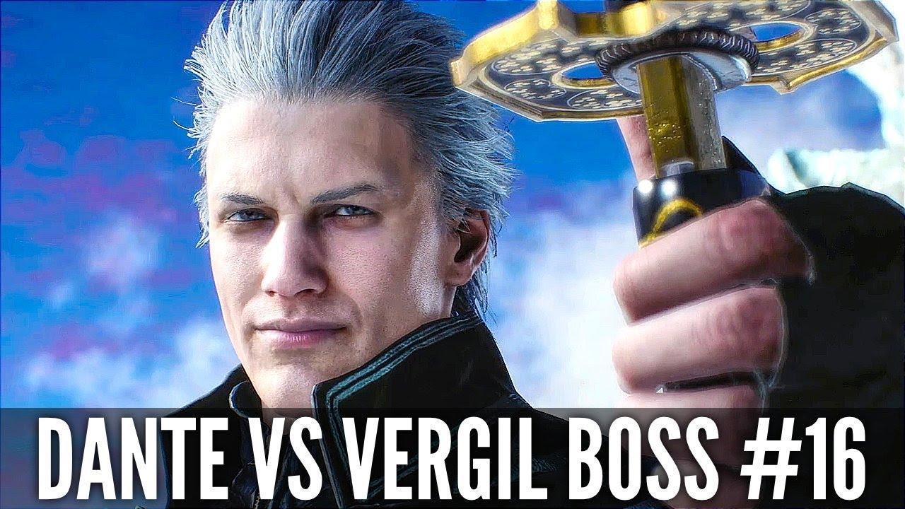 TEUFEL MAI SCHREI 5 Dante Vs Vergil Boss Fight # 16 (1080p HD 60FPS) + video